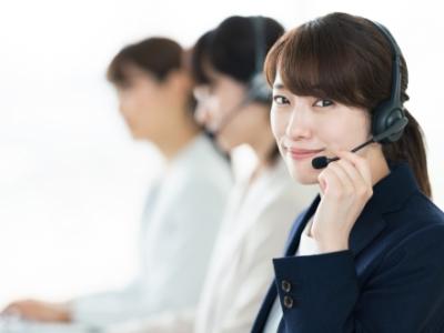 専任スタッフが年中無休で電話サポート